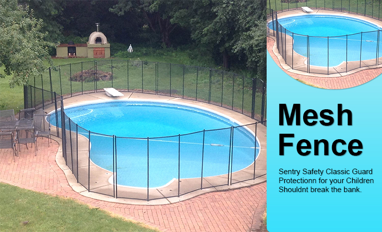 Nationalpoolfence classic guard child safety pool