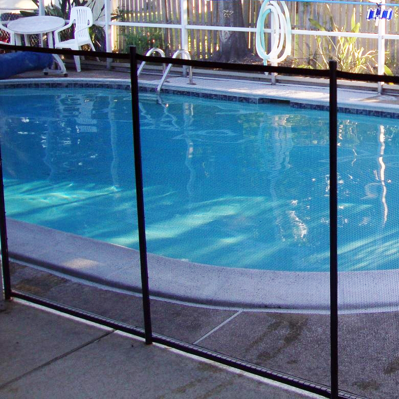 Install Removable Mesh Classic Guard Pool Safety Fence