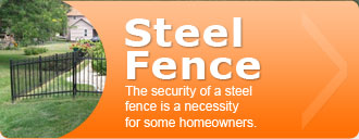 Purchase Steel Fence
